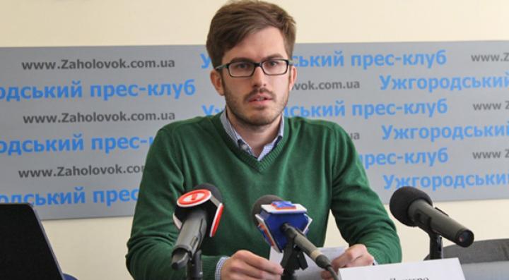 Dmitro Tuzsanszkij, fotó: goloskarpat.info