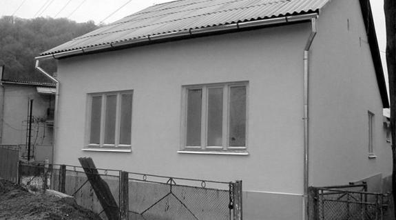 A leendő gyermekotthon épülete