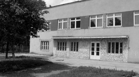 A kollégium leendő épülete