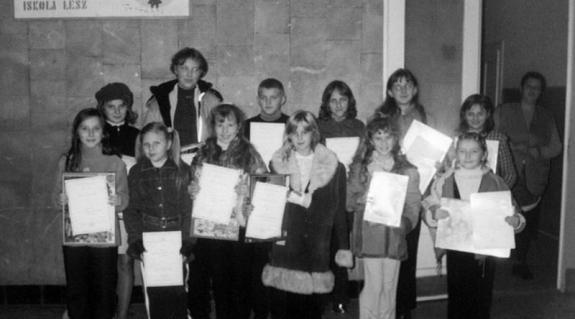 A borzsovai verseny győztesei