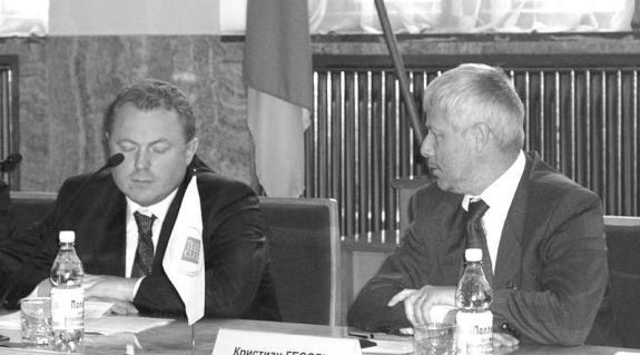 Ivan Rizak és Cristian Hessl