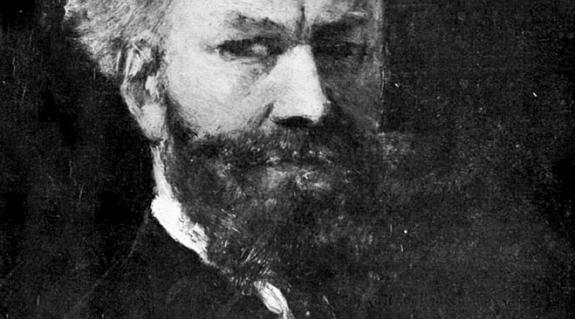 Munkácsy Mihány: Önarckép (1881)