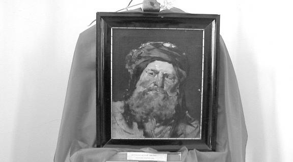 Munkácsy Mihány: Farizeusfej (tanulmány)
