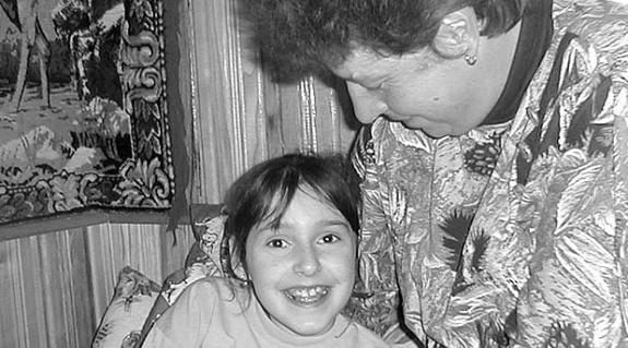Lengyel Ilona és édesanyja, Mária