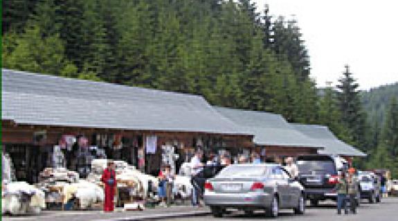 Kirakodóvásár a Tatár-hágón