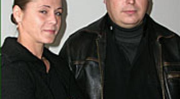 Orosz Melinda és Szabó Imre színművészek