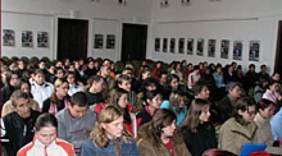 ...műveit felidéző nagy sikerű előadás a főiskolán