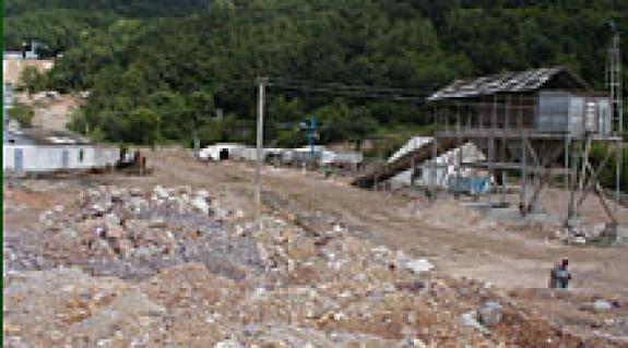 Az aranybányában jelenleg a kitermelés veszteséges