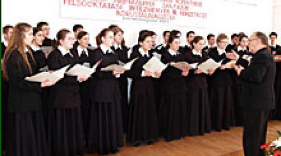 A Debreceni Református Kollégium kántusa