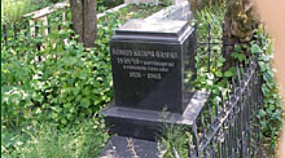 Vandalizmus: a közelmúltban megrongálták Kóródy Katona Gáspár, a '48-as podheringi csata honvéd tüzérének sírját a munkácsi temetőben.