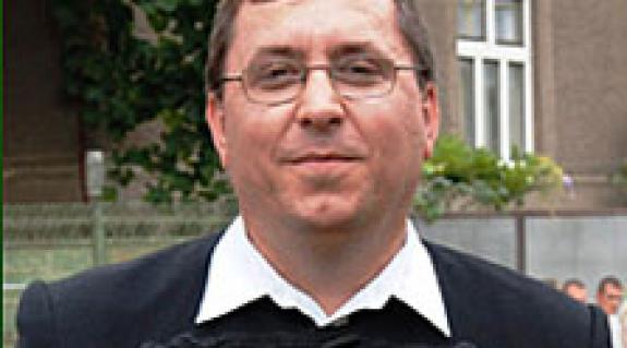 Fodor Gusztáv református lelkész, a jótékonysági koncert főszervezője