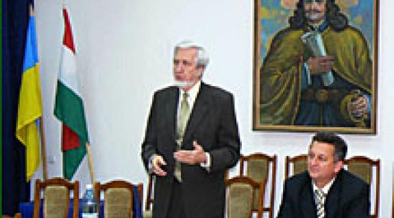 Jeszenszky Géza és Soós Kálmán