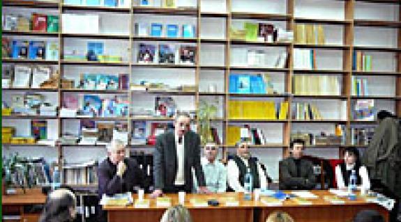 Vári Fábián László, Zseliczky József, Fodor Géza, S. Benedek András, Penckófer János és Beregszászi Anikó