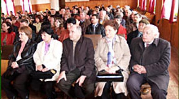 KMKSZ Ungvári Középszintű Szervezetének küldöttgyűlése