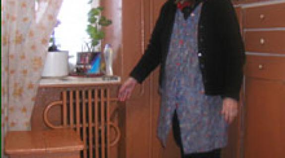 Baraté Erzsébet és a hideg radiátor