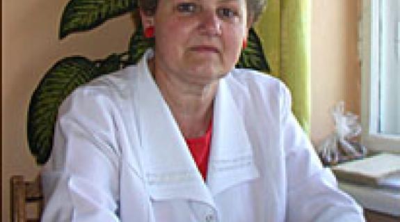 Dr. Ortutay Ágnes, a Nagyszőlősi Járási Kórház endokrinológusa