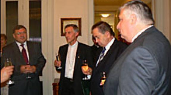Sziklavári Vilmos, Majnek Antal, Csizmár Béla és Oleg Havasi