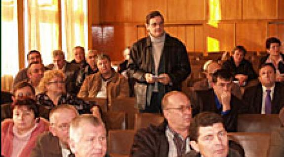Beregszászi Járási Tanács: Vass Ottó, a KMKSZ–UMP frakcióvezető-helyettesének hozzászólása