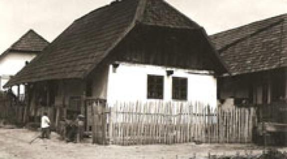 Hagyományos régi parasztház