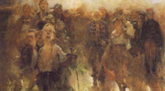 A Rákóczi-induló egyik vázlata