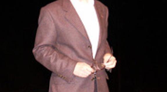 Horkay Sámuel tartott előadást