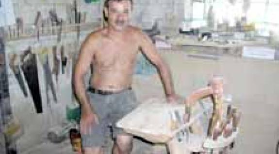 """Tóth Gyula a """"fejes őkegyelmével"""""""