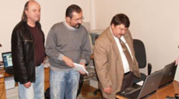 Riskó György, Kacsur Gusztáv és Bacskai József