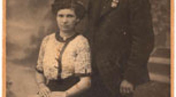 A nagyszülők: Kulin Zoltán és Ekkel Erzsébet anno
