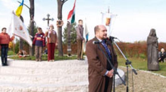 Brenzovics László, a megyei tanács és a KMKSZ alelnöke