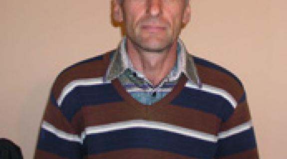 Oroszi László, a KMKSZ-alapszervezet alelnöke
