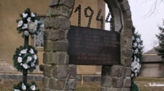 A sztálinizmus áldozatainak emlékműve