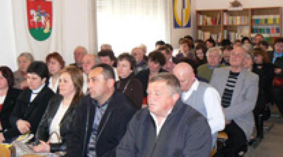A Munkácsi Középszintű Szervezet közgyűlésének küldöttei