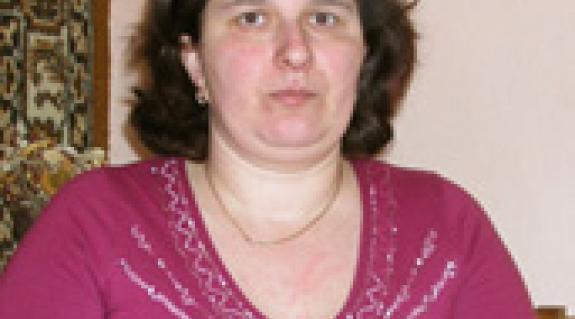 Sztepanyuk Angéla, a Batári KMKSZ-alapszervezet elnöke