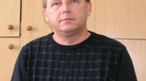 Nagy Sándor iskolaigazgató, a KMKSZ-alapszervezet elnöke