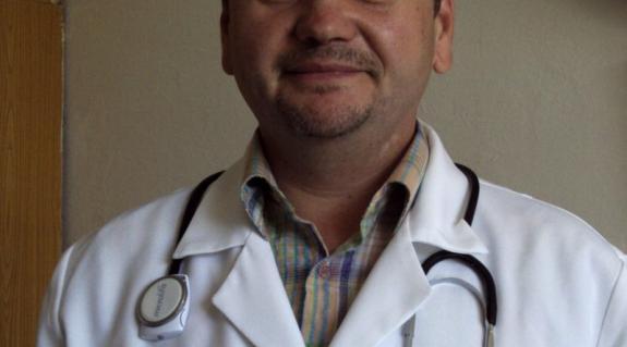 Dr. Kovács Mihály, a Viski Nagyközségi Poliklinika belgyógyásza
