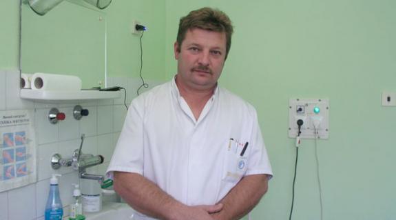 Dr. Papp György, a Beregszászi Járási Kórház nőgyógyásza