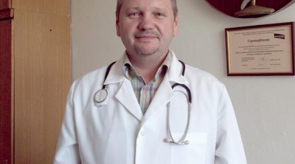 Dr. Kovács Mihály, a Viski Nagyközségi Orvosi Rendelő belgyógyásza