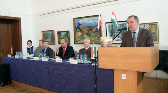 Tóth István beregszászi főkonzul köszöntője