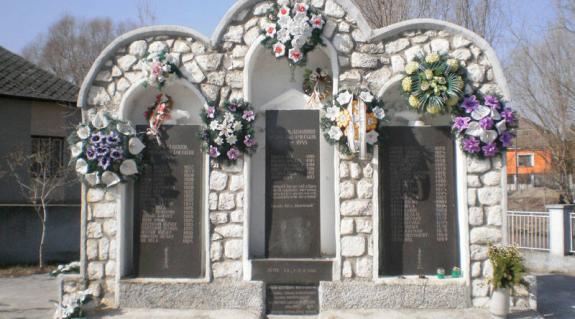 A II. világháború és a Gulag áldozatainak emlékműve