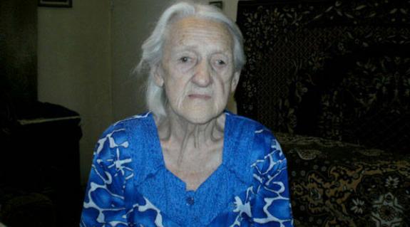 Varga Mária, a legidősebb magyar lakos