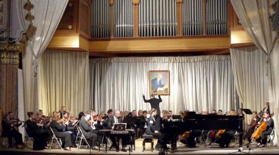A Kárpátaljai Megyei Filharmonia Szinfonikus Zenekara