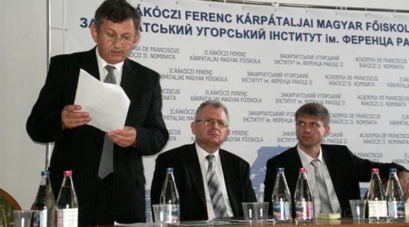 Himinecz László, Virág László és Sütő Attila