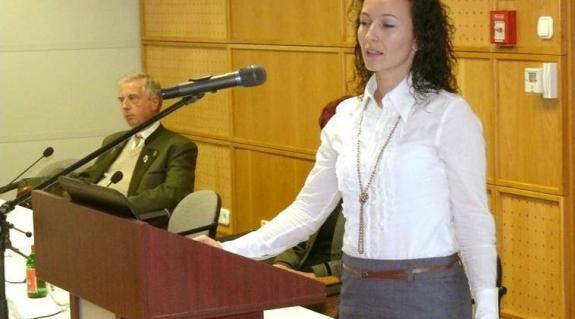 Molnár Eleonóra beszél a Kárpátaljai Értéktárról