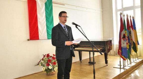 Dr. Gulyás Gergely parlamenti képviselő (Fidesz) ünnepi köszöntője