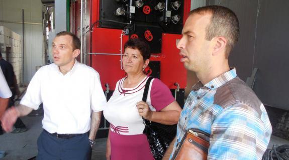Ivan Males, Seder Ilona és Mihajlo Prihora ügyvezető igazgató