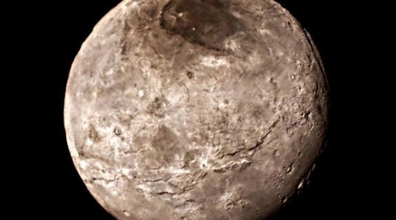A Charon egy közeli felvételen
