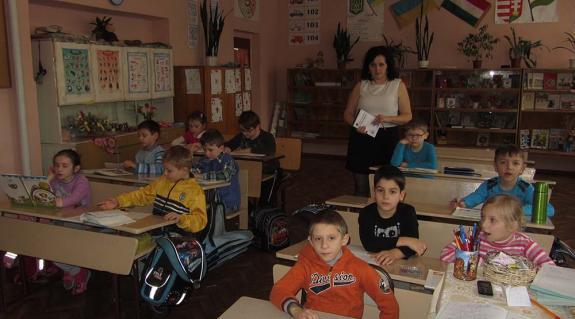Tanóra a 2. osztályban