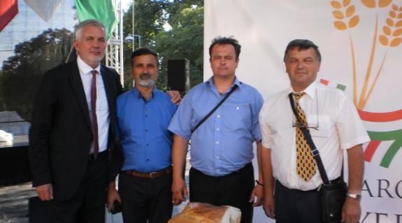 Felvételünkön (balról jobbra): Páva Zsolt, Gál István, Gorondi Albert és Őrhidi László