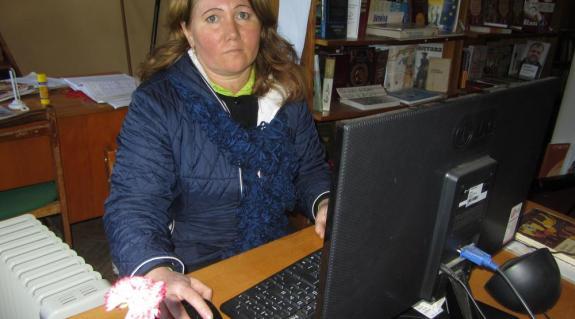 Jánosi Julianna könyvtáros