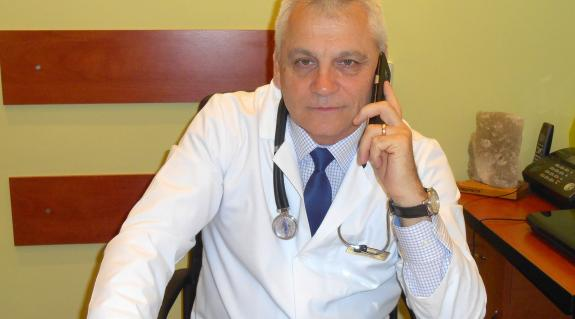 Dr. Mihajlo Poljak, a megyei klinikai infekciós kórház főorvosa